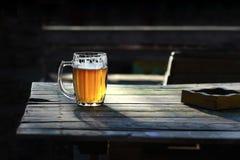 Szkło piwo Obrazy Stock