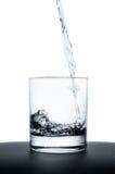 szkło podsadzkowa woda Obrazy Stock