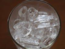Szkło rockowi lody Obraz Royalty Free