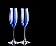 Szkło shampagne Obrazy Royalty Free
