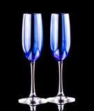 Szkło shampagne Zdjęcie Stock