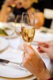 Szkło szampan Obrazy Stock