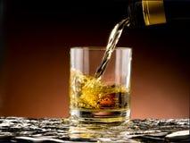 Szkło whisky Zdjęcia Stock