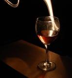 szkło wina duchów Obrazy Royalty Free