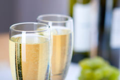 szkło wina z winogron obraz royalty free