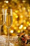 Szkło wino Fotografia Stock