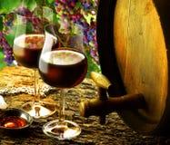 Szkło wino Obraz Stock