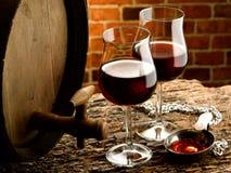 Szkło wino Zdjęcie Stock