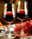 Szkło wino Fotografia Royalty Free