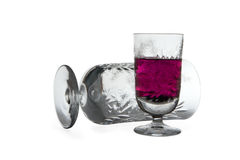 szkło winograd obrazy stock