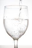 Szkło woda Zdjęcia Royalty Free