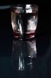Szkło woda i refleciton Zdjęcie Stock