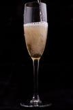 Szkło z szampanem Zdjęcia Stock
