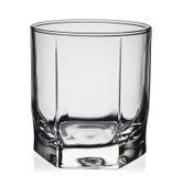 szkła odosobniony odbicia whisky biel Fotografia Stock
