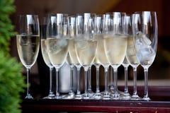 Szkła szampan Fotografia Stock