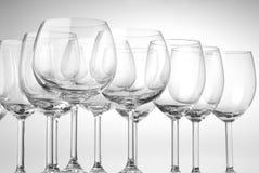 szkła wino Obraz Royalty Free