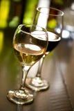 szkła wino Zdjęcia Stock