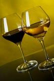 szkła wino dwa obrazy royalty free