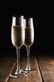 Szkła z szampanem Obrazy Stock