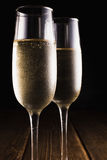 Szkła z szampanem Obraz Royalty Free