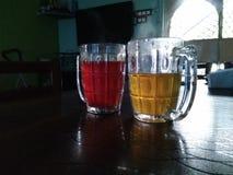 szkła zdrowie napój Obraz Stock