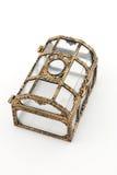 szkatuły klatka piersiowa Zdjęcie Stock