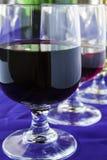 szkieł różni wina Zdjęcie Royalty Free