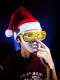 szkieł Santa kolor żółty Zdjęcia Stock