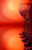 szkieł grupy wino Fotografia Stock