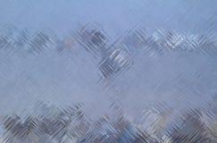Szklana ściana z cegieł powierzchni tekstura Obraz Stock