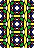 szklana bezszwowa pobrudzona płytka Fotografia Royalty Free