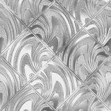 Szklana bezszwowa tekstura z wzorem dla okno ilustracja wektor