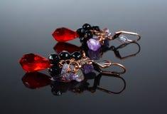 szklana biżuteria obraz stock