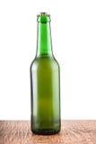 Szklana butelka piwo Obrazy Stock
