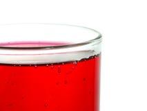 szklana ciekła czerwień Obraz Royalty Free