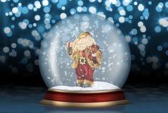 szklana Claus sfera Santa Zdjęcie Royalty Free