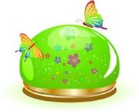 szklana hemisfera Zdjęcia Stock