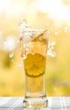 szklana herbata Zdjęcie Stock