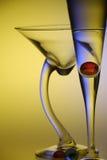 szklana koszowa szczupła noga Zdjęcia Royalty Free