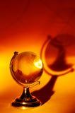 szklana kula ziemska Zdjęcie Stock