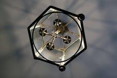 Szklana lampa Zdjęcia Stock
