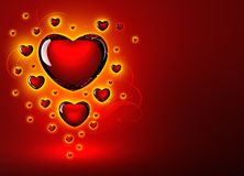 Szklana miłość zdjęcia stock