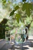 szklana miotacz woda obrazy stock