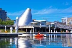 Szklana Muzealna kopuła, Tacoma, WA fotografia stock