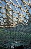 szklana nowoczesnej architektury stali Fotografia Stock