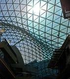 szklana nowoczesnej architektury stali Obraz Royalty Free