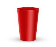 szklana plastikowa czerwień ilustracji