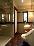 Szklana prysznic obrazy stock