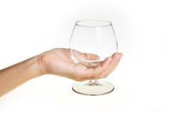 szklana ręka Obrazy Stock