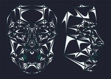 Szklana robot twarz Zdjęcie Royalty Free